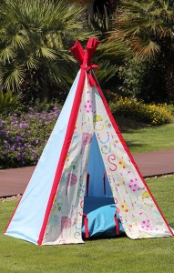 Red & Blue Tipi